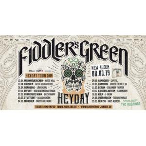 Tourdaten Fiddler's Green Heyday